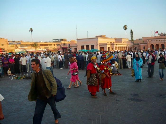 Ghid Vizitare Maroc piata jemaa el fna marrakech