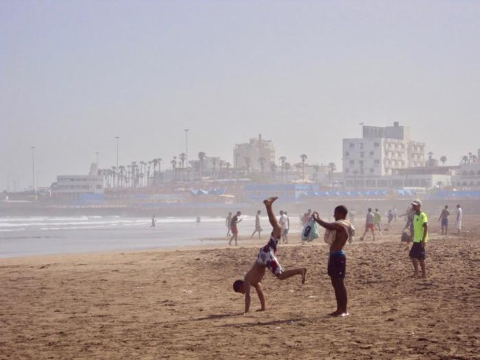 Ghid Vizitare Maroc plaja casablanca