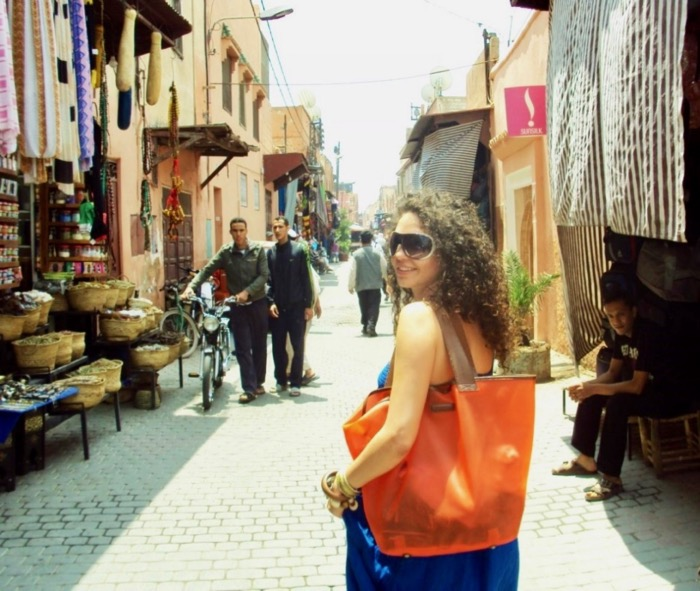 Femeie Marocana Marrakech