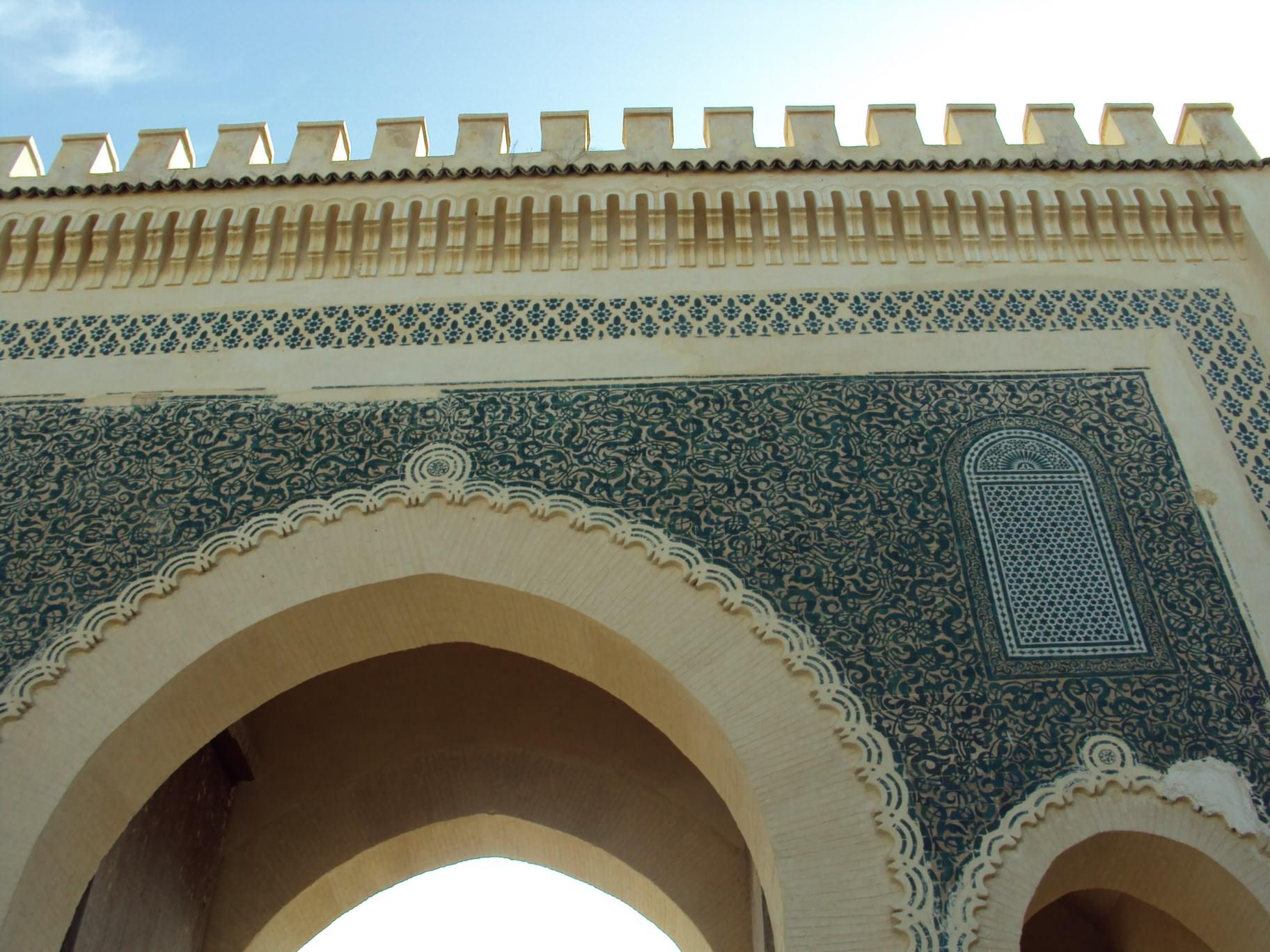 Bab-el Boujloud, marea poartă albastră