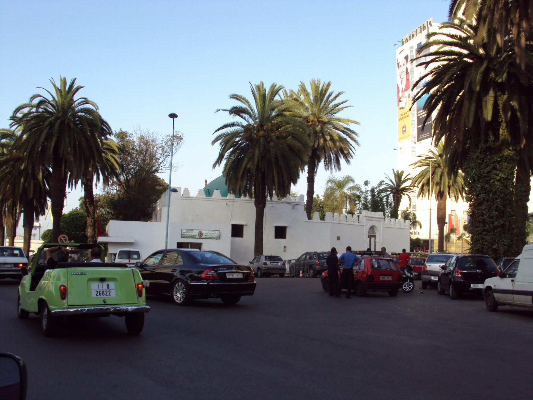 Bulevard în Casablanca