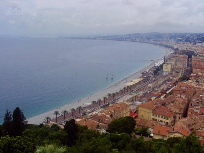 plaje frumoase pe Coasta de Azur Nisa