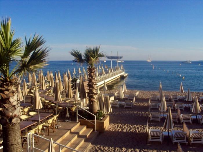 plaje frumoase pe Coasta de Azur Cannes 3
