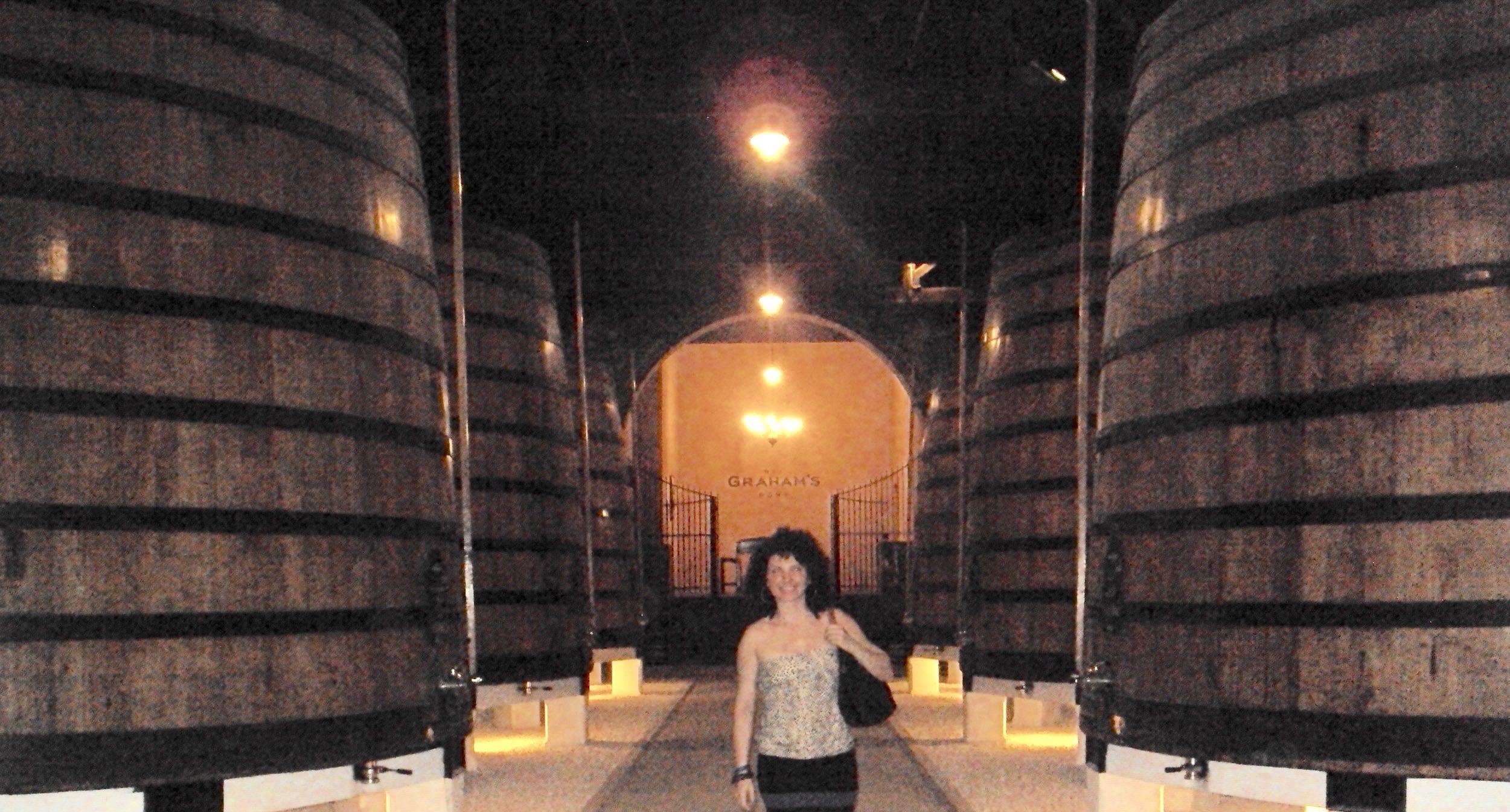 Caves de Vinho do Porto în Vila Nova de Gaia: pivnița Graham's