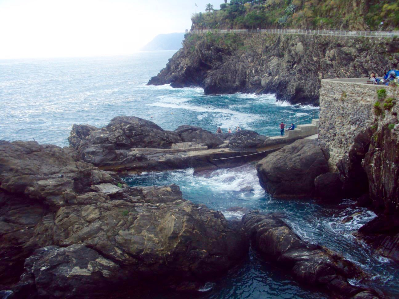 Manarola, Cinque Terre, pe inserat