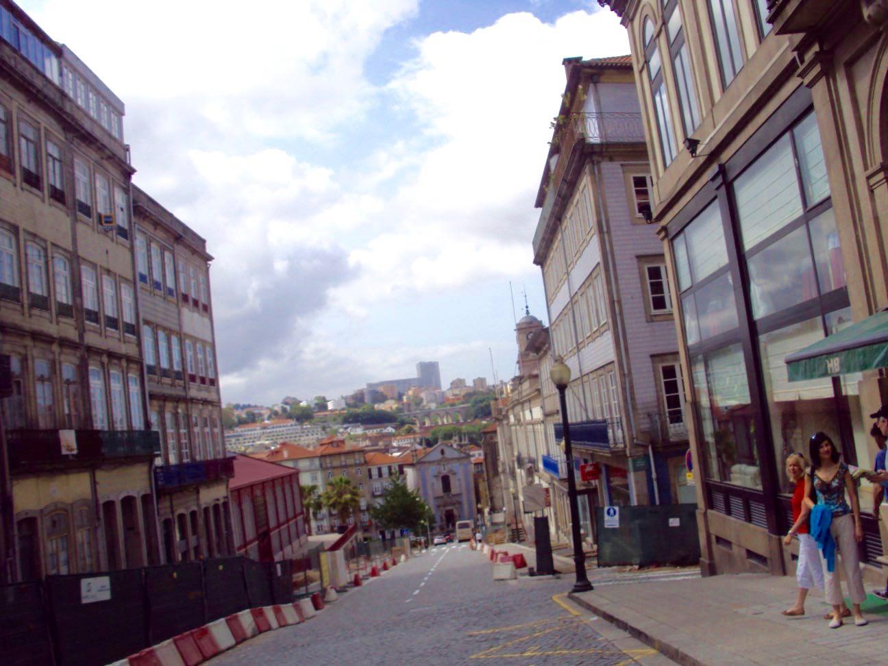 Străzile din Ribeira, Porto