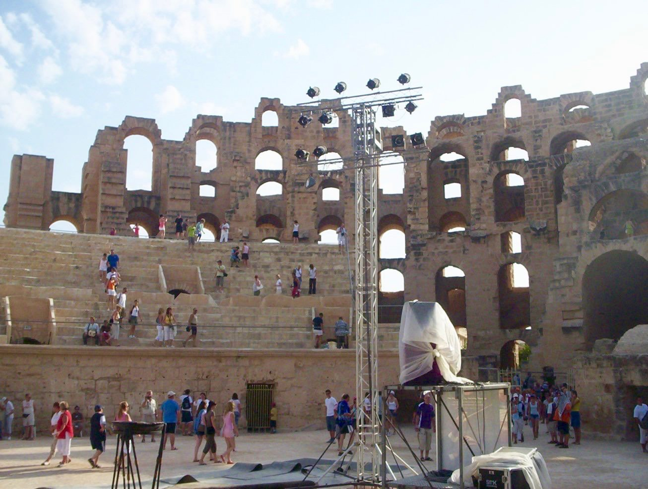 Amfiteatru roman El Djem Tunisia2