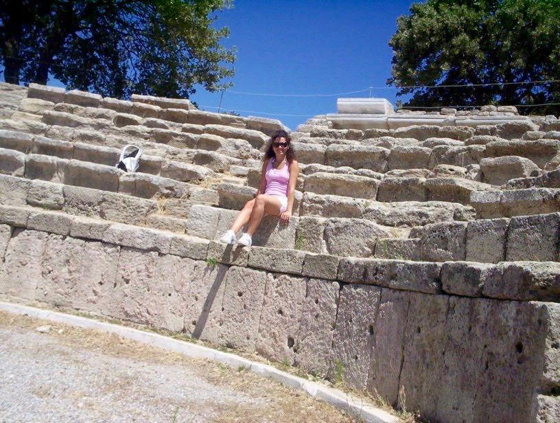 Troia teatru antic Turcia 1