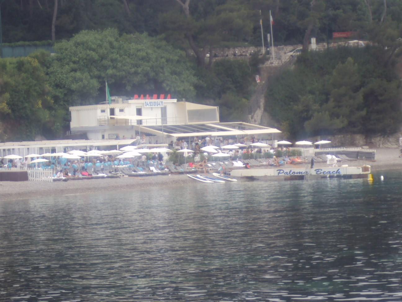 Plaja Paloma Coasta de Azur