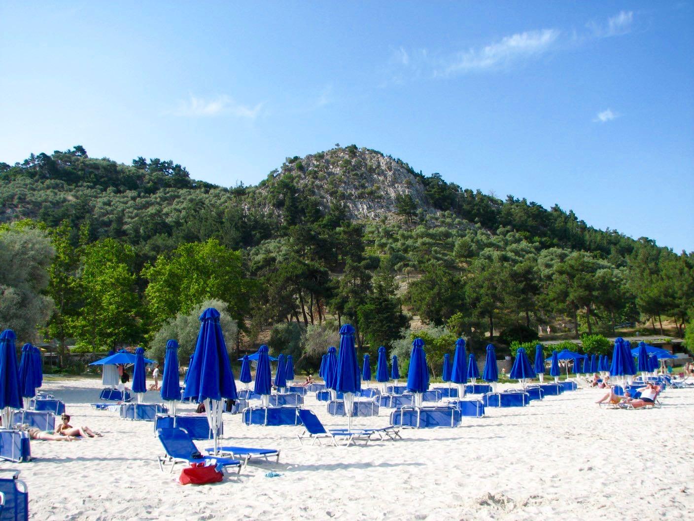 Makryammos resort Plaja Insula Thassos Grecia2