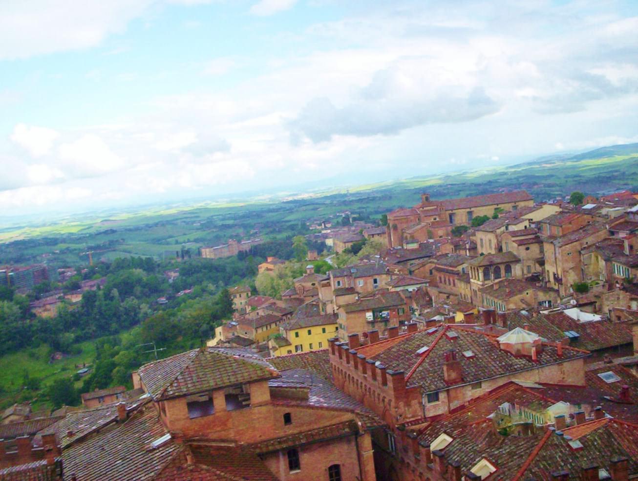 Siena, vedere de sus
