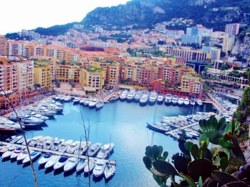 Portul vechi din Portul vechi Fontvieille Monaco