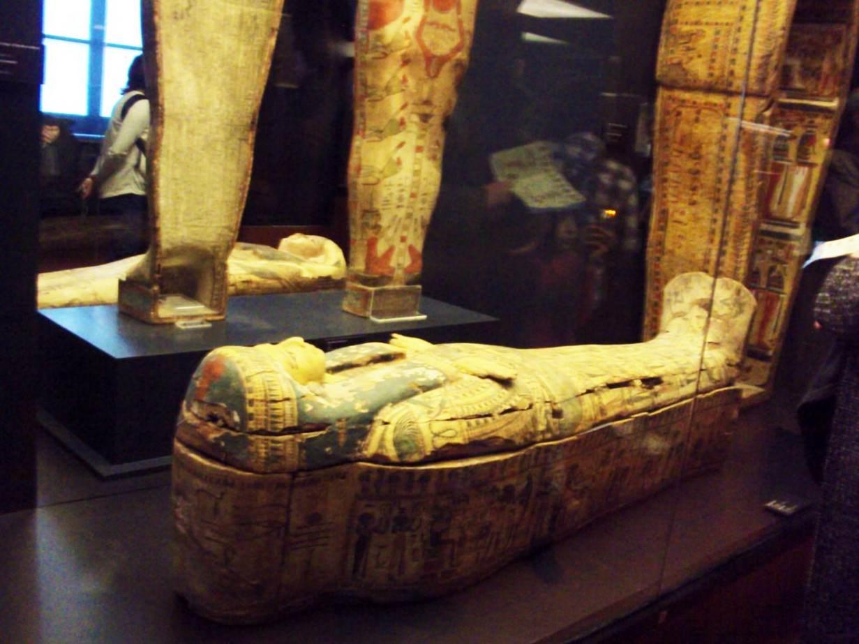 Expozitia egipteana de la Vatican