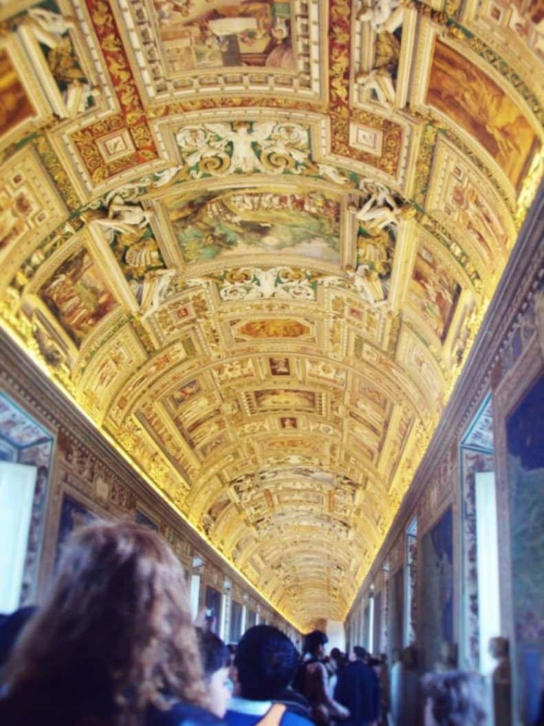 Spre Capela Sixtina Vatican