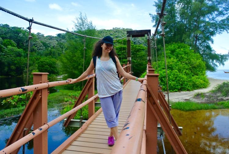 Junglă şi plajă în Parcul Naţional din Insula Penang 15