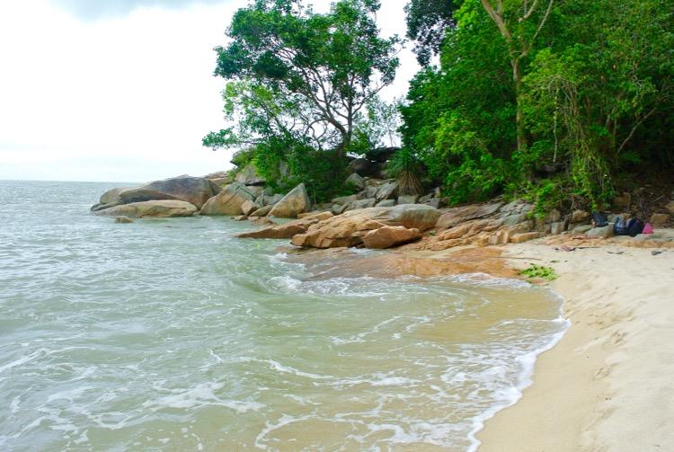 Junglă şi plajă în Parcul Naţional din Insula Penang 12