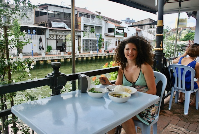 Malcca Melaka Malaysia restaurant