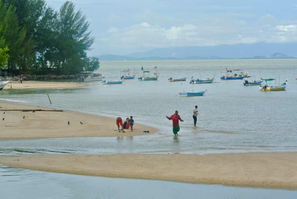 Malaezia pescuit insula Penang
