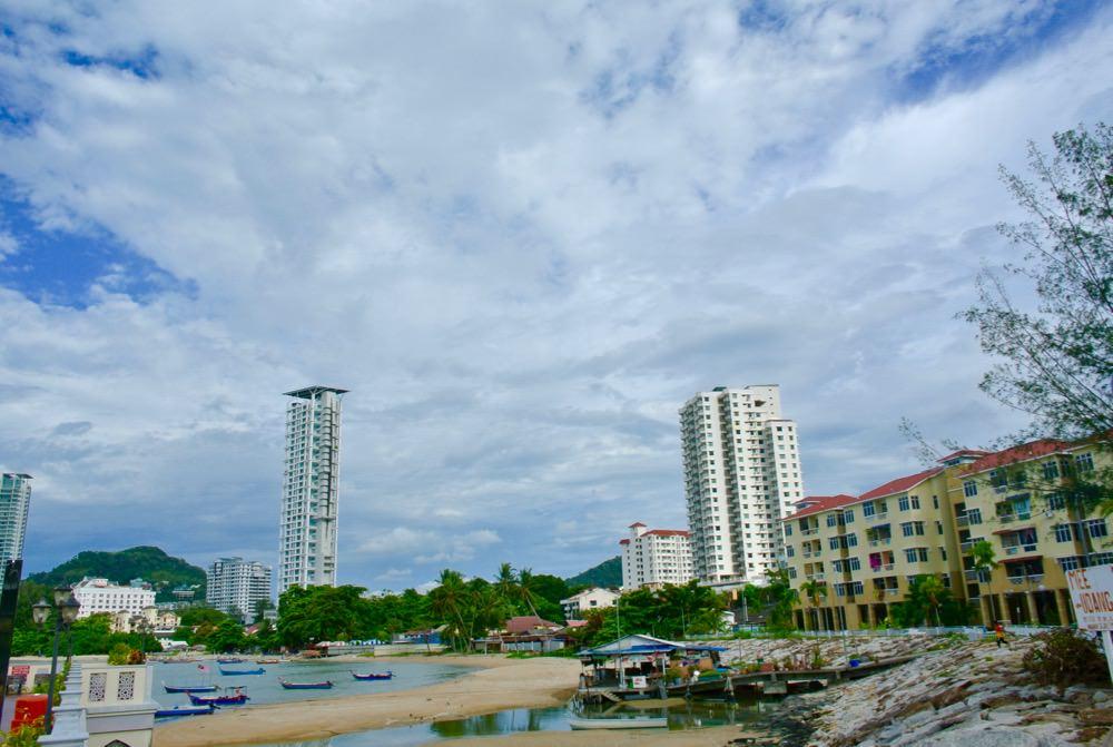 Insula Penang amestec vechi nou