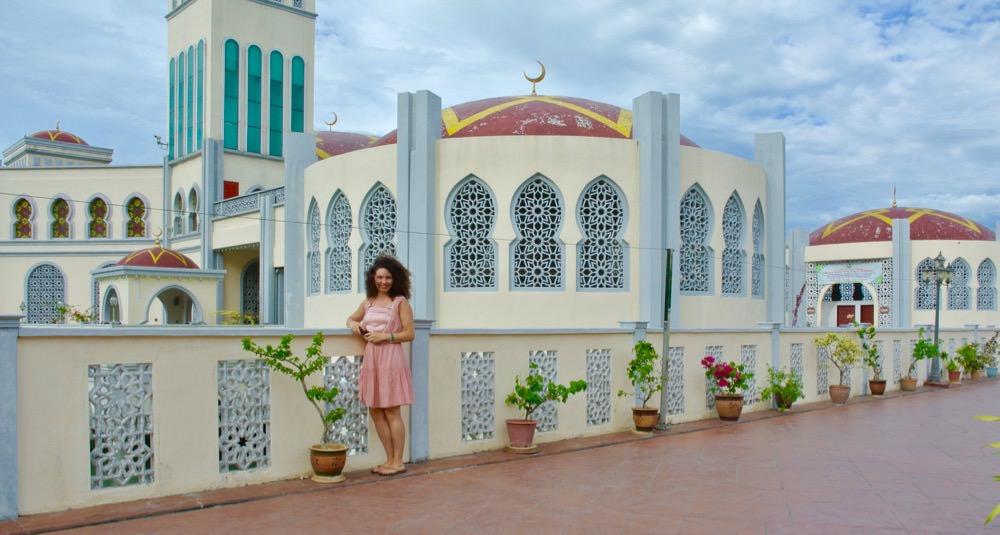 Moschee plutitoare insula Penang