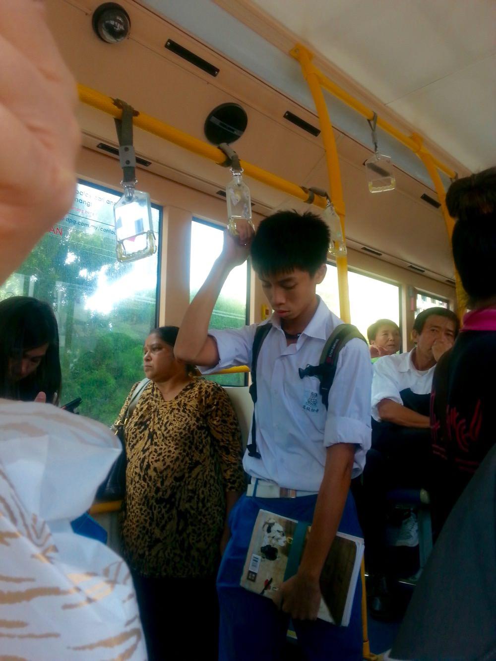 Autobuz Malezia Insula Penang