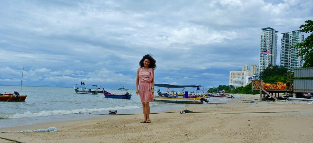 Singură in Malaezia insula Penang