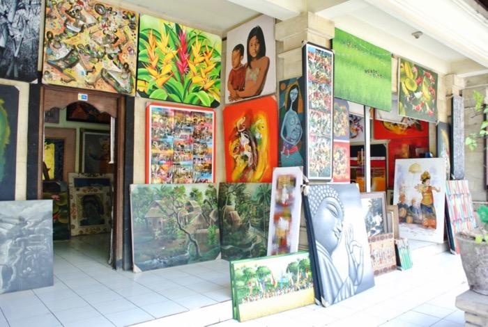 galerii de arta ubud bali