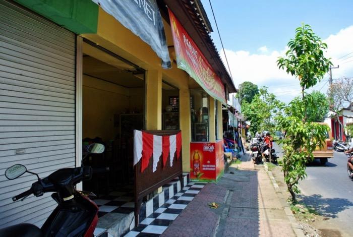 warung local Ubud Bali