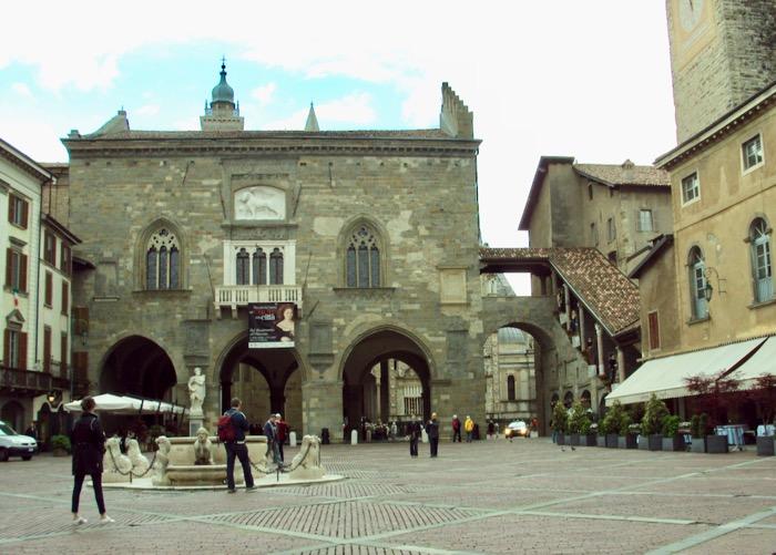 Obiective Bergamo La Citta Alta am fost acolo 21