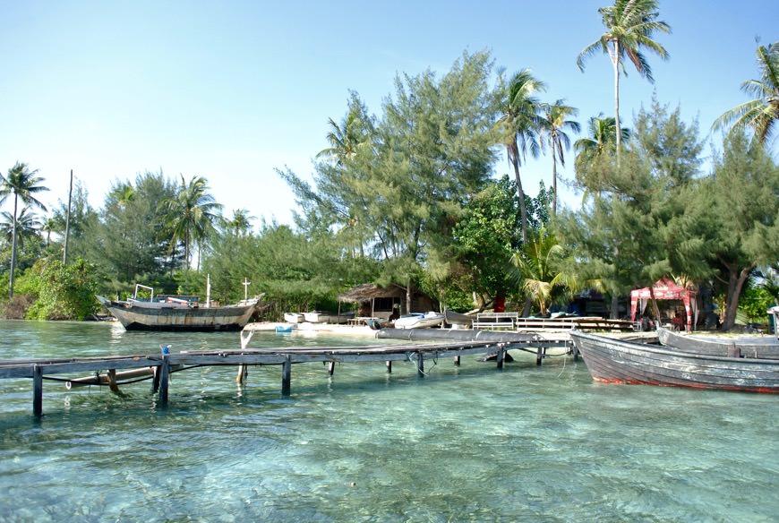 baie intr-o piscina naturala cu rechini