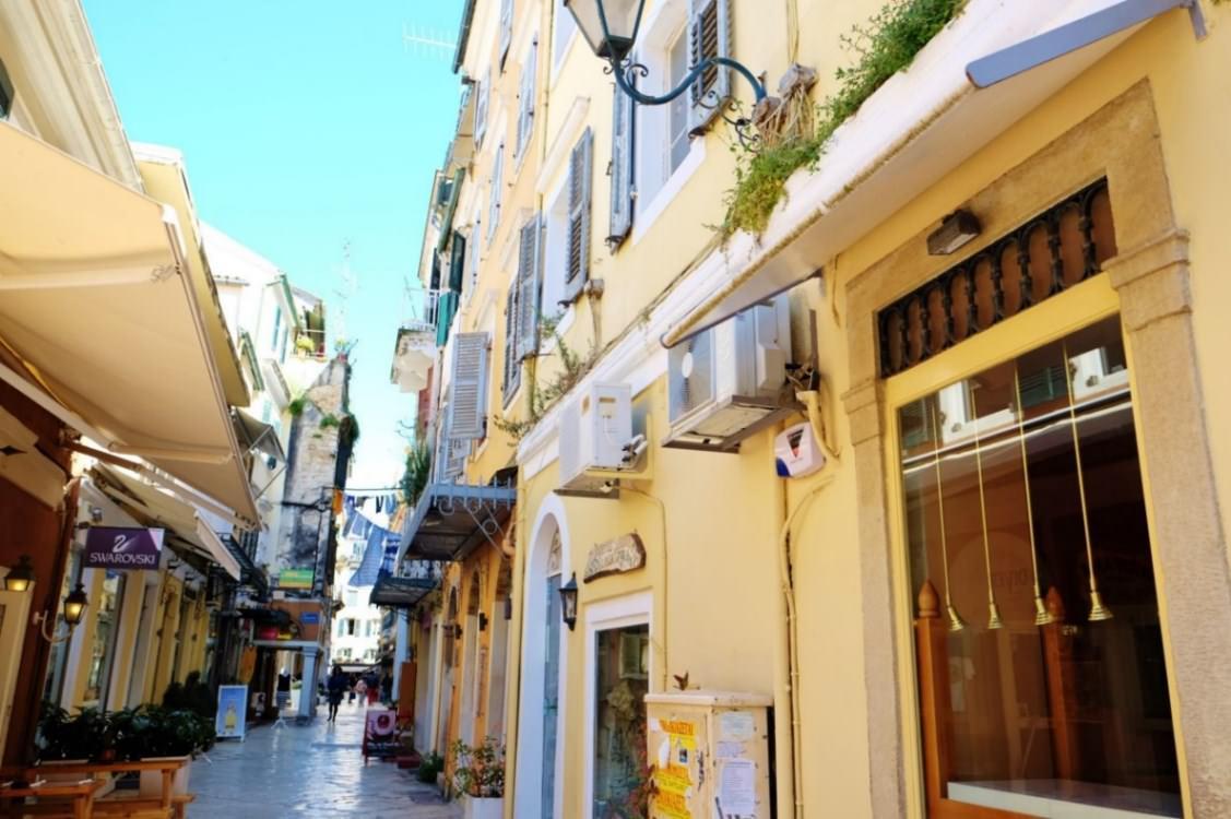 Orasul Corfu atractii TOP19