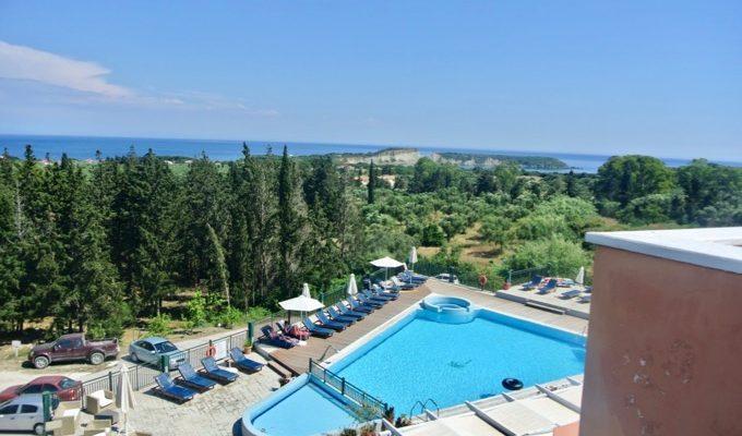 Hoteluri Vassilikos Zakynthos Belvedere Gerakas Luxury piscina 3