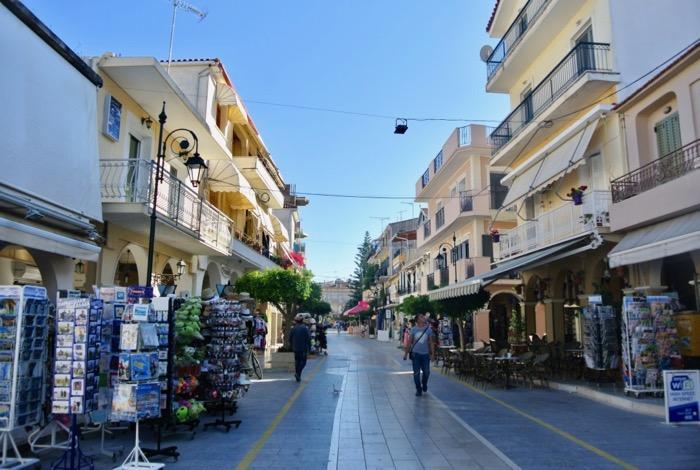 Orașul Zakynthos capitala insulei obiective strazi
