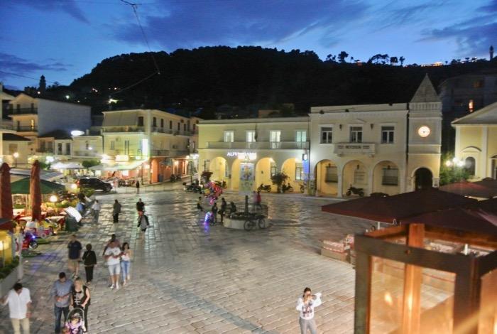Orașul Zakynthos capitala insulei plimbare 3