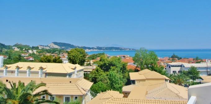 Statiunea Argassi Zakynthos plaja hotel captains 1