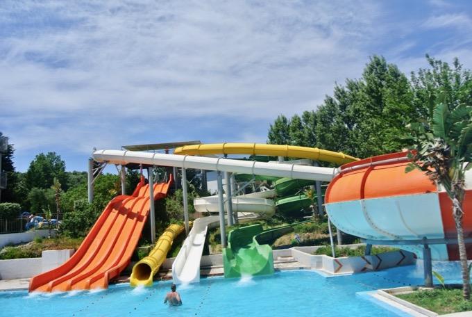 Tsilivi Zakynthos plaja hoteluri Hotel Aqua Bay water park