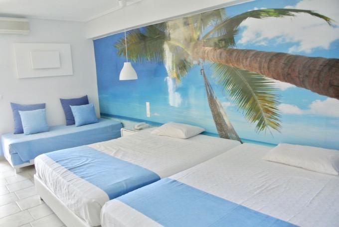 Filoxenia Tsilivi Zakynthos plaja hoteluri camera