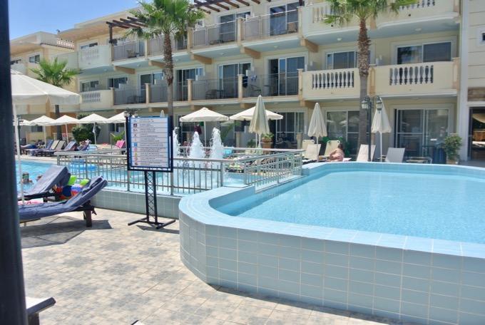 Tsilivi Zakynthos plaja hoteluri Hotel Zante Maris2 1