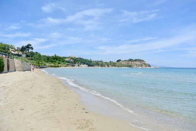Tsilivi Zakynthos plaja nisip 2