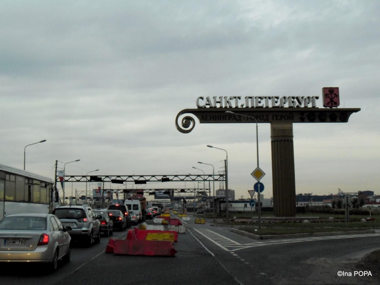 intrarea in Sankt Petersburg