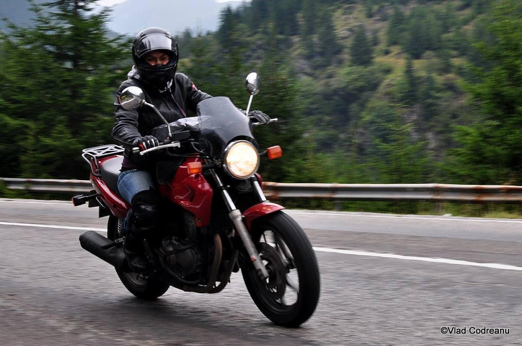 prima motocicleta