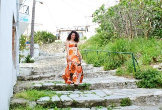 la plimbare prin Skiathos