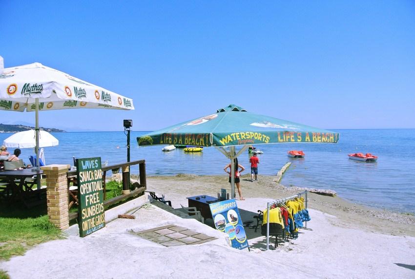 Plaja Argassi insula Zakynthos