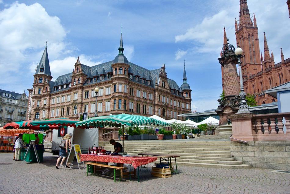 Obiective turistice Wiesbaden: centrul vechi