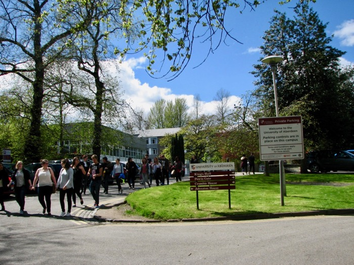vechiul Aberdeen Scotia Universitatea din Aberdeen obiective 11