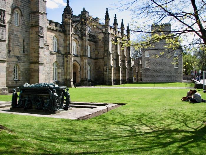 vechiul Aberdeen Scotia Universitatea din Aberdeen obiective 10