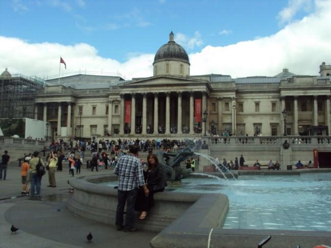 Trafalgar Square Londra 03