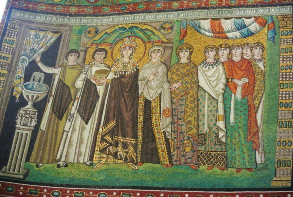 Ravenna San Vitale mozaic