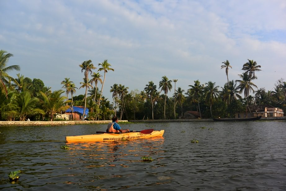 Caiac Kalypso Adventures Backwaters Kerala (11)