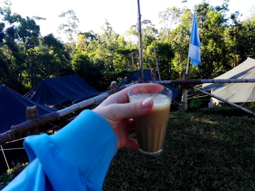 Ultima imagine? Cafeaua de dimineata